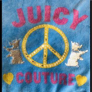 Juicy Couture Vintage Embellished Zip Jacket